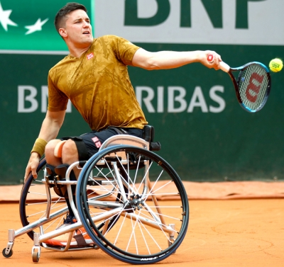 Gordon out of French Open singles